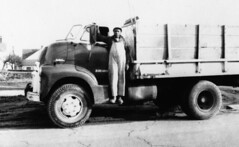 Environmental Health Project truck driver, 1971