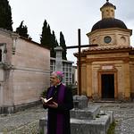 2020-03-27 - Preghiera al cimitero al tempo del Coronavirus