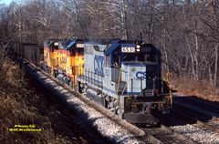 1988 12-04 1207-4 CSX GP40-6531 E/B Mt. Airy, MD