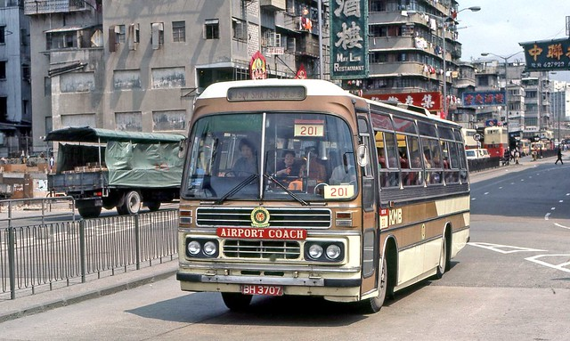 Hong Kong 1982: KMB CA16 (BH3707) on Gillies Avenue South