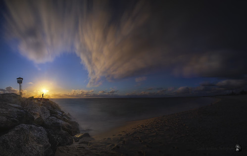 Sunset, City Beach. Perth. W.A. Australia._