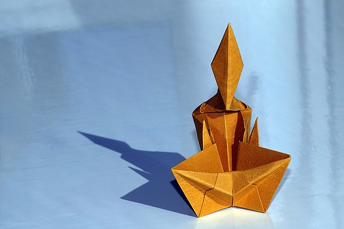 Origami Monk (James Sakoda)