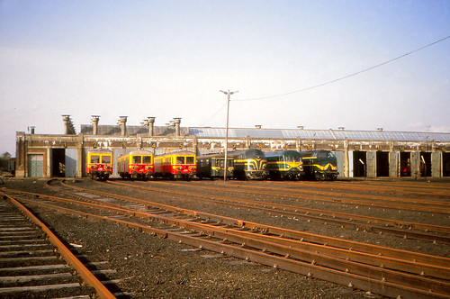NMBS 4312 @ Bertrix depot