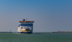 Ahhh My Boat back to Dover Uk From Calais France,