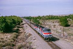Amtrak Train #3 at Sandia Pueblo, NM