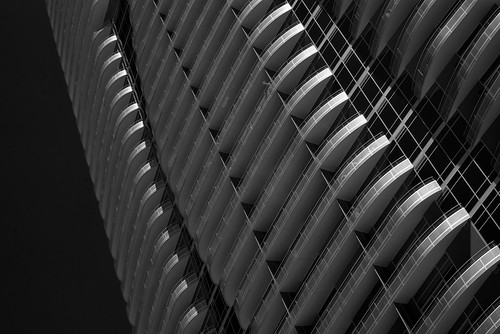 Houston High Rise Apartments (infrared)
