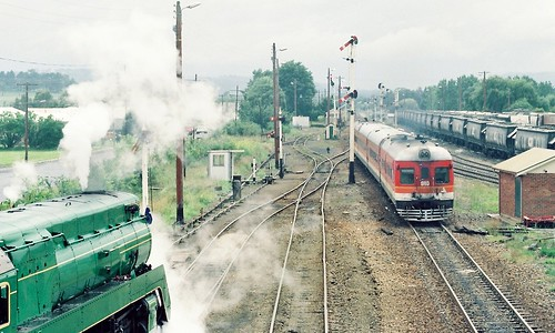 131-17 1992-02-23 3801 and 952-910 at Moss Vale