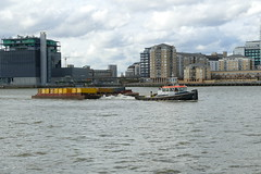Recovery, The Thames at Greenwich Peninsula
