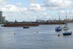 The Thames at Greenwich Peninsula
