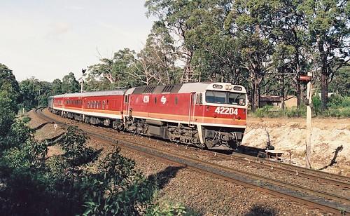 132-13A 1992-02-29 42204 on SL20 at Yerrinbool