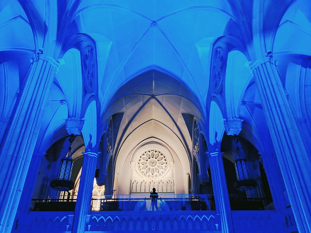 Novena Church ceiling