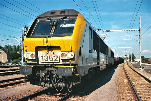 La 1352 et 1305 SNCB