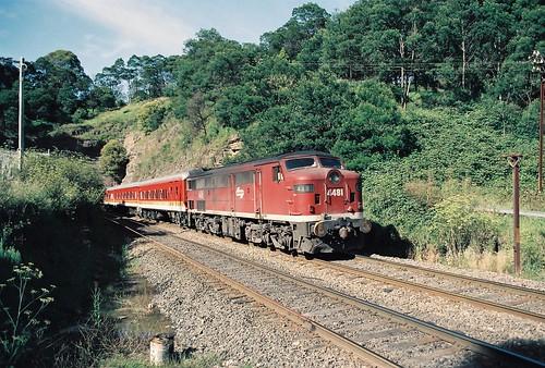132-17A 1992-02-29 4481 on SL56 at Gib tunnel