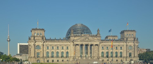 2018-08-06 DE Berlin-Mitte, Reichstag, Berliner Fernsehturm