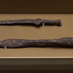Miniature sword and javelin point from Valle Fuino near Cascia - https://www.flickr.com/people/7945858@N08/