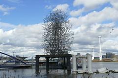 'Quantum Cloud' by Antony Gormley, Greenwich Peninsula