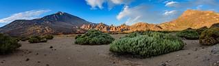 Teide, Roques de Garcia y Guajara