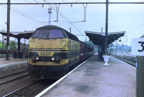 NMBS 6260 at Marloie