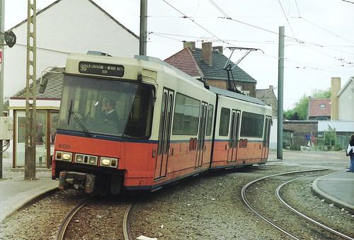 NMVB / TEC 6130 at Leval-Trahegnies Béguinage, Binche