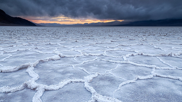 Une mer de sel