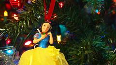 Week 47 - Emotion - Happy - Snow White  Christmas Tree Ornament
