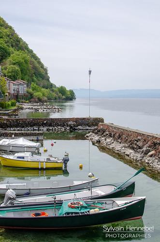 Port de plaisance de Meillerie