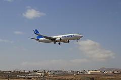 EC-MXM Boeing 737-800 Air Europa Arrecife 01-03-20