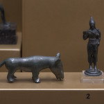 Votive canid and Hercules(?) from Valle Fuino near Cascia - https://www.flickr.com/people/7945858@N08/