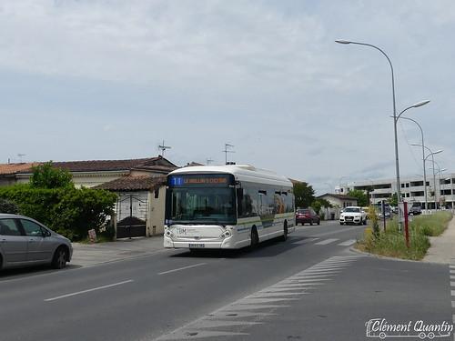 HEULIEZ GX 327 Hyb - 1140 - Keolis Bordeaux Métropole