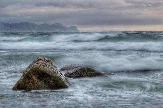 La mer déchainée