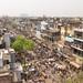 Alrededores del mercado Chandni Chowk, Vieja Delhi...cuesta creer que este sitio tan abarrotado de gente, a día de hoy este vacío con la pandemia.