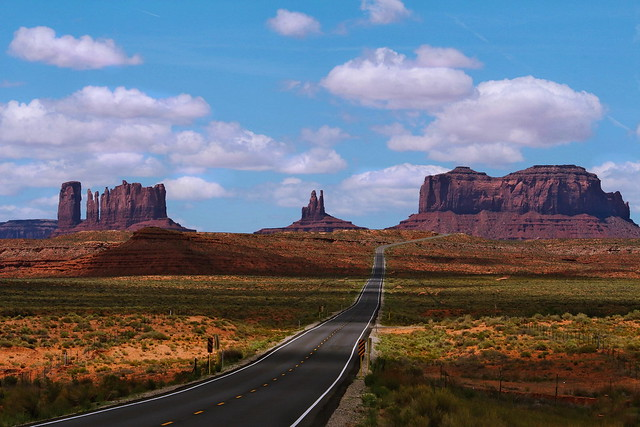 En route pour Monument Valley