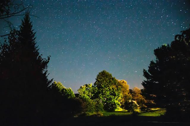 Nuit étoilée, Potton