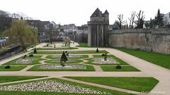 Vannes : les jardins des emparts