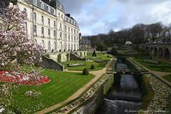 Vannes : les jardins du château de l'Hermine