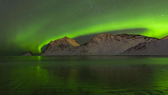 Nuit polaire norvégienne