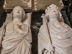 Recumbent Statues and Tombs of Philip III the Bold and Philip IV the Fair