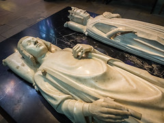 Recumbent Statues and Tombs of Charles V and Jeanne de Bourbon