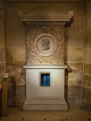 Monument and Heart of Louis XVII in the Chapel of the Bourbons