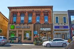 Aurora  Ontario - Canada - Fadghner Block 1875  - Heritage - Yonge Street
