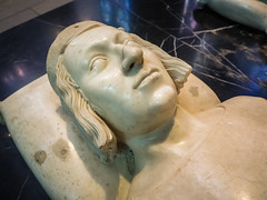 Detail of Recumbent Statue of Charles V