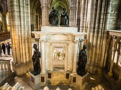 Tomb of Henry II and Catherine de Medicis