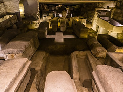 Burial Site of St. Denis in the Archaeological Crypt