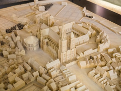 Scale Model of Saint-Denis and Environs c. 1600