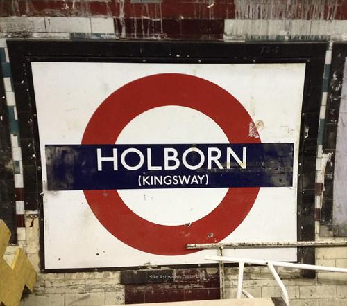 Holborn (Kingsway) disused platform