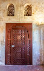 Lattice Design Door