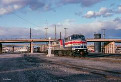 Train time at Albuquerque