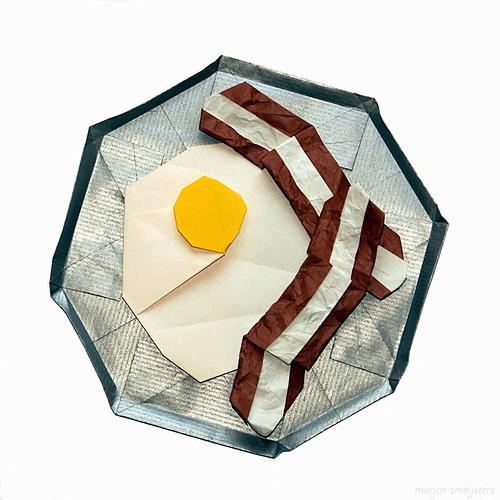 Origami 'Breakfast Special: Sunny Side Up' ( Peter Engel)