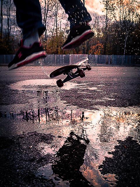 Reflet de mon adolescence