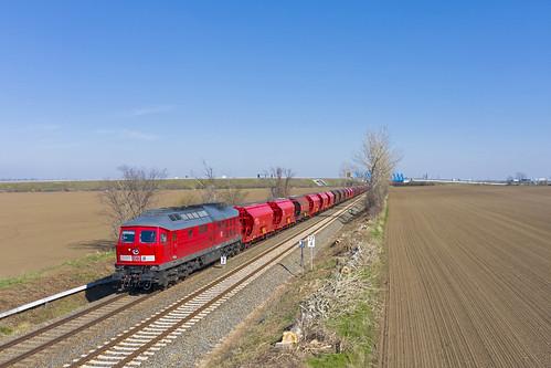 DB Cargo 233 452, Ilberstedt (D)